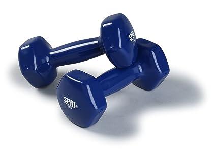 SPRI Deluxe Vinyl Dumbbells indoor exercise equipment