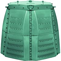 Exaco 600531 Thermo-Star Composter, 1000-Liter/267-Gallon, Green