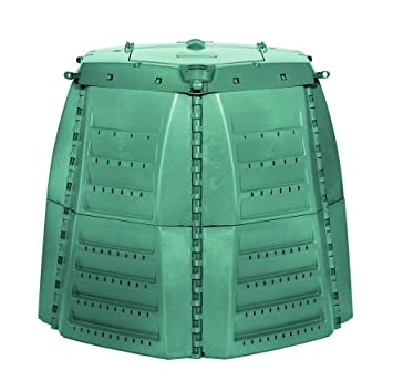 Amazon.com : Exaco 600531 Thermo-Star Composter, 1000-Liter/267-Gallon, Green : Garden & Outdoor