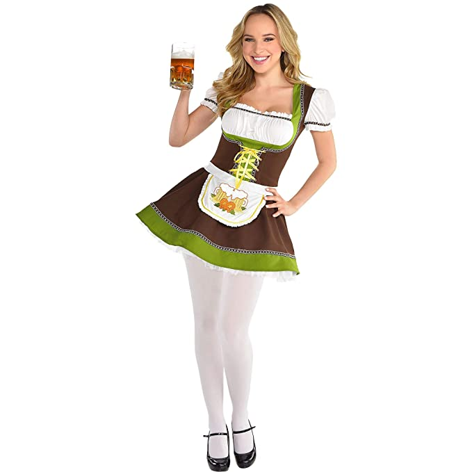 Amazon.com: Disfraz de Oktoberfest para mujer de Party City ...