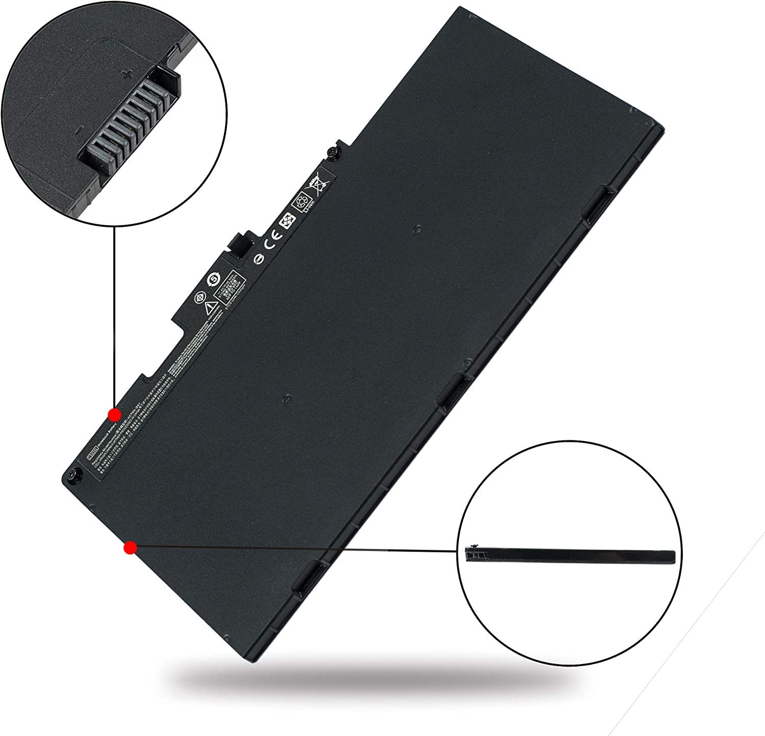 Aluo TA03XL 11.55V55Wh Replacement Laptop Battery for HP EliteBook 755 G4 EliteBook 840 G4 EliteBook 848 G4 EliteBook 850 G4 ZBook 14u G4 15u G4 Series 854047-1C1 854108-850 996QA101H TA03051XL