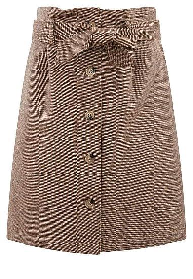6b50d924537f61 Promod Jupe Paper Bag Femme: Amazon.fr: Vêtements et accessoires