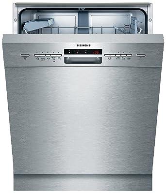 Fantastisch Siemens IQ500 SN45M539EU SpeedMatic Unterbau Geschirrspüler / A++ / 13  Maßgedecke / Edelstahl / VarioSpeed / GlasSchonsystem / DosierAssistent:  Siemens: ...