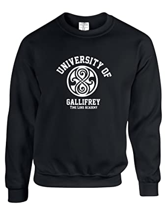 Eat Sleep Shop Repeat University Of Gallifrey Mens Sweats Amazon