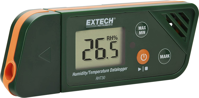 Extech RHT30 USB Humidity//Temperature Data Logger Green