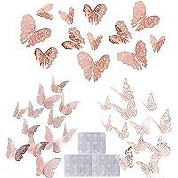 ARTISAN-SH 36 piezas Pegatina de pared 3D mural de Arte Artesania bricolaje pegatinas decoracion de mariposa Calcomanías…