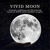 Moon Lamp, 3 Colors 3D Led Moon Night Light lamps for Kids Gifts for Women, USB Rechargeable & Touch Control & Dimmable…