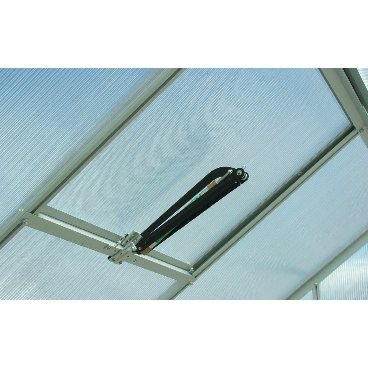 Set of 2 Roof Window/Vent Opener for Greenhouses (NO TEMPERATURE CONTROL)