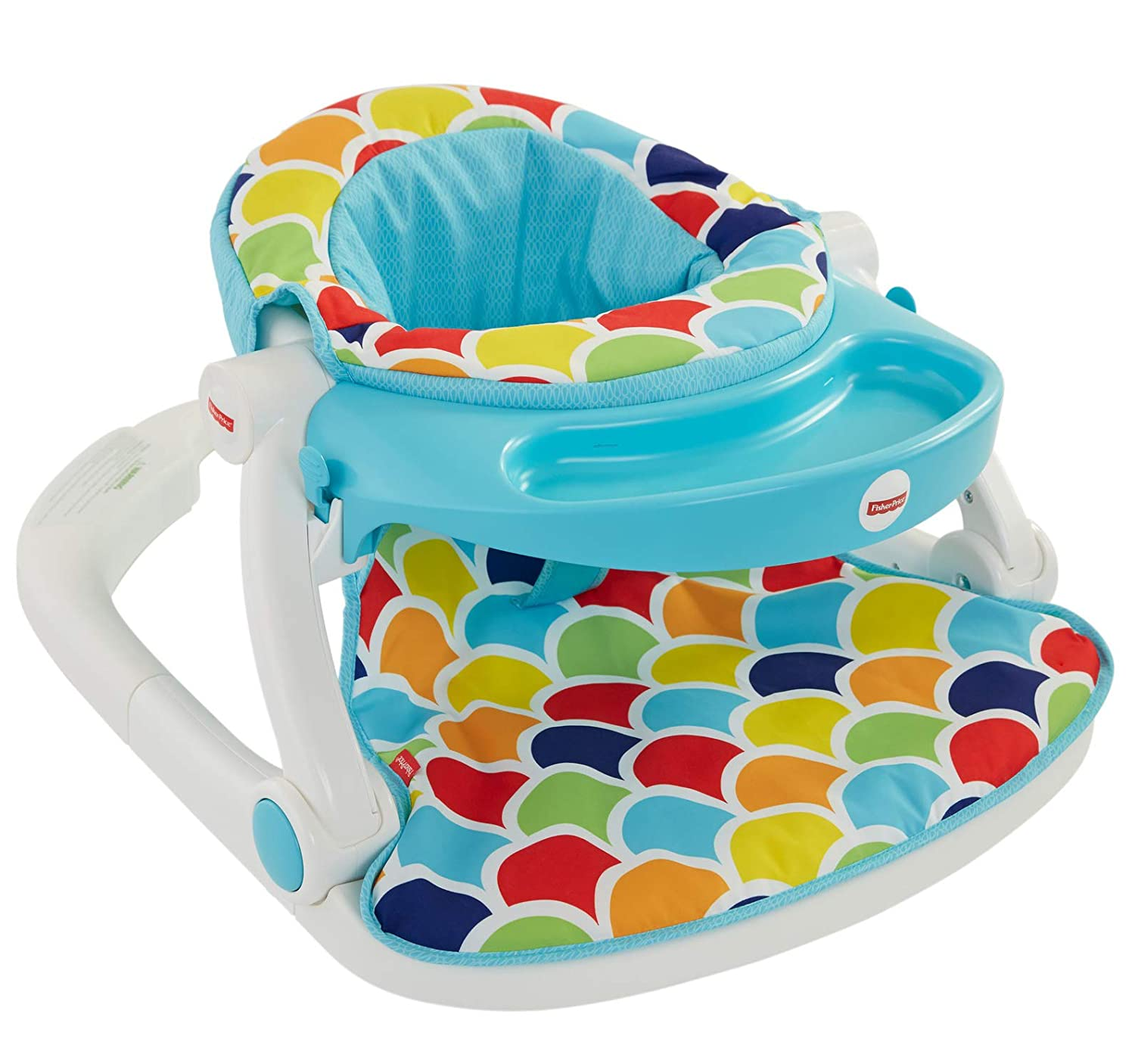 Fisher-Price Sit-Me-Up Floor Seat with Toy Tray, Happy Hills Amazonca/FISNE DRH80