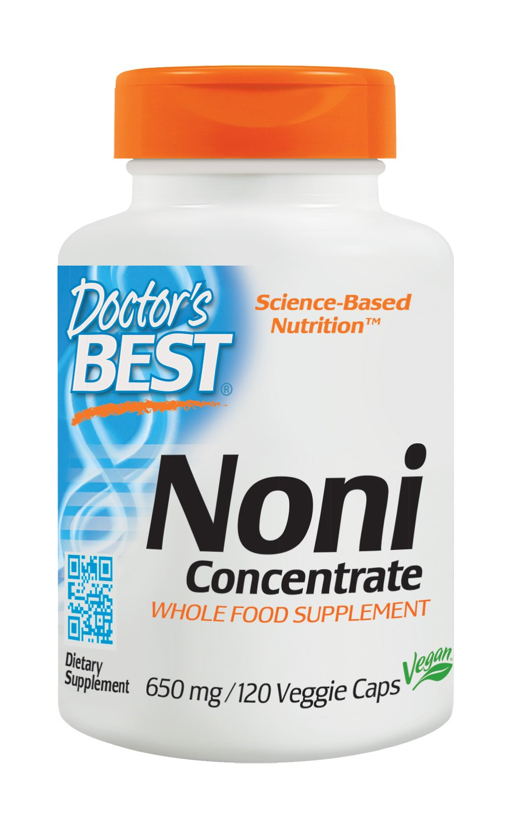 Doctor's Best Noni Concentrate (650 mg), 120 Veggie Caps