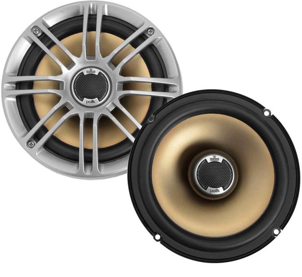 Polk Audio Db651 65 675 2 Way Marine Certified Db Drive Amp Wiring Diagram Series Car Speakers With Liquid Cooled Silk Tweeters Electronics