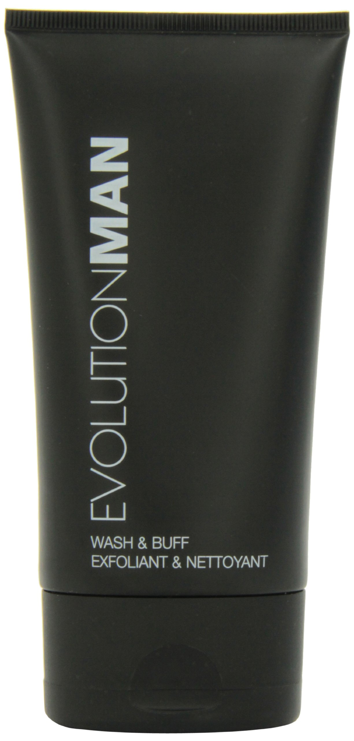 Evolution Man Wash and Buff, 4.4 Ounce