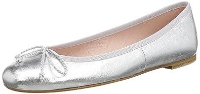 buy online 2b12c d2945 Pretty Ballerinas 35629, Women'S Ballet Flats, Silver (Ami ...