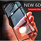 SuperdealsForTheinfinity (Full Glue) for Redmi 6 Pro Full Body 6D Tempered Glass, Full Edge-to-Edge 6D Screen Protector for Xiaomi Redmi 6 Pro - Black