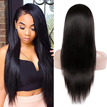 Lace Wigs Hair Extensions & Wigs Short Bob Wig 13*4 Lace Front Wigs 150% Brazilian Remy Hair Straight Lace Front Human Hair Wigs For Black Women Cap Adjusted High Resilience