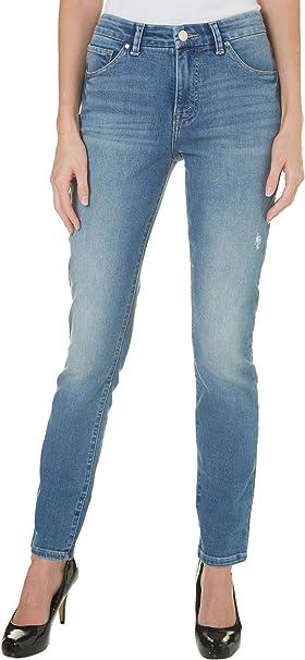 Lee Womens Modern Series Midrise Fit Gabrielle Skinny Leg Jean