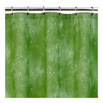Lime Green   Shower Curtain