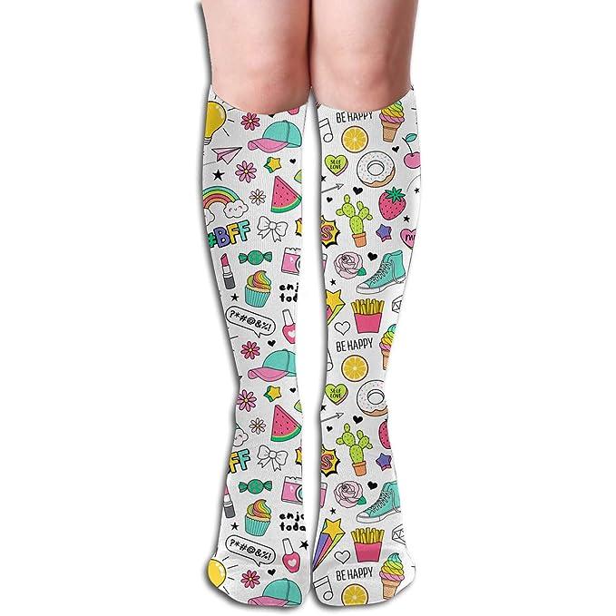 Amazon.com: Calcetines divertidos y divertidos para niñas y ...