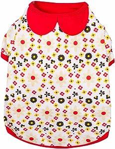 Blueberry Pet 4 Patterns Soft & Comfy Dog Dress