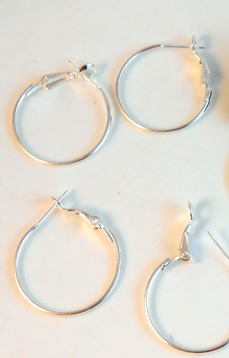 Pure Silver plated hoop Earring findings 99.9 4 Microns Thickness Dangle French Lever Ear Hoop Hooks beads Wholesale for fine jewelry making designers (6) A Sher' s creations