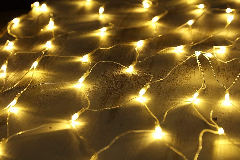 Dauerlicht 100er Warmwei/ß 100//160//240//320ER Red de luces LED blanco c/álido L/ámpara decorativa Interior y Exterior con conector 2018/nuevo model gresonic 2