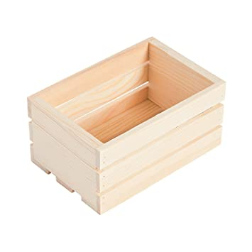 Amazon.com: DIY Mini cajas de madera sin terminar: Health ...