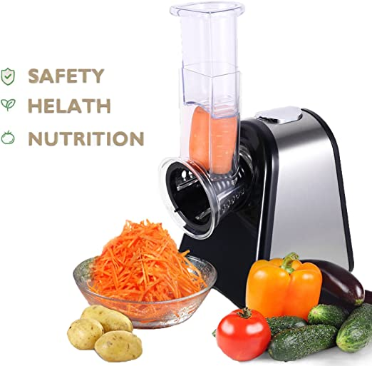aimado eléctrica picadora verduras fruta cortador de acero ...