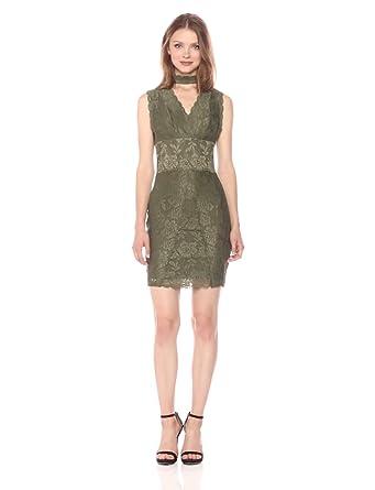 Olive Lace Dresses