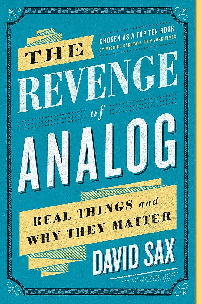 Revenge Analog Real Things Matter