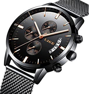 Watch,Mens Fashion Luxury Chronograph Sports Watches,Waterproof Analog Quartz Wrist Watch …
