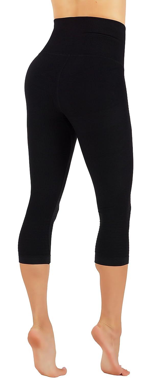 CodeFit Yoga Gym Power Flex Dry-Fit High Compression Pants Workout Womens Leggings