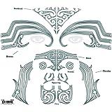 Tinsley Transfers Maori Face Tattoo Kit