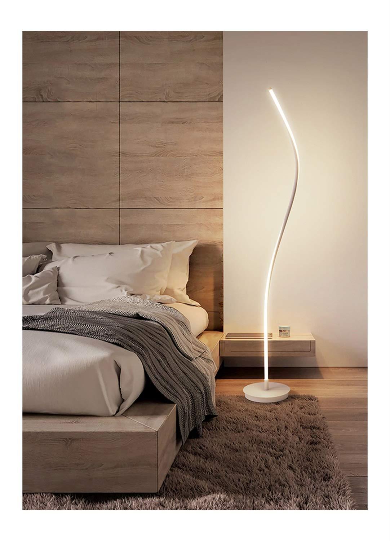 フロアライト モダンなLedフロアランプ、リビングルームシンプルな北欧の寝室釣りランプベッドサイドランプ創造性人物の垂直フロアランプ サイズ -07 無段階調光) (色 : 黒, B07PTTF5PV サイズ さいず : 無段階調光) B07PTTF5PV 白 3色調光 3色調光|白, 栄進堂:b80c45e7 --- centrohospitalariomac.com.mx