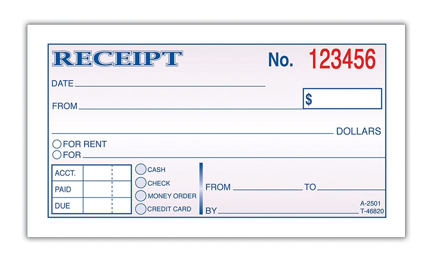 Doc605760 Rent Receipt Pdf Printable Rent Receipt in PDF Form – Rent Receipt Pdf