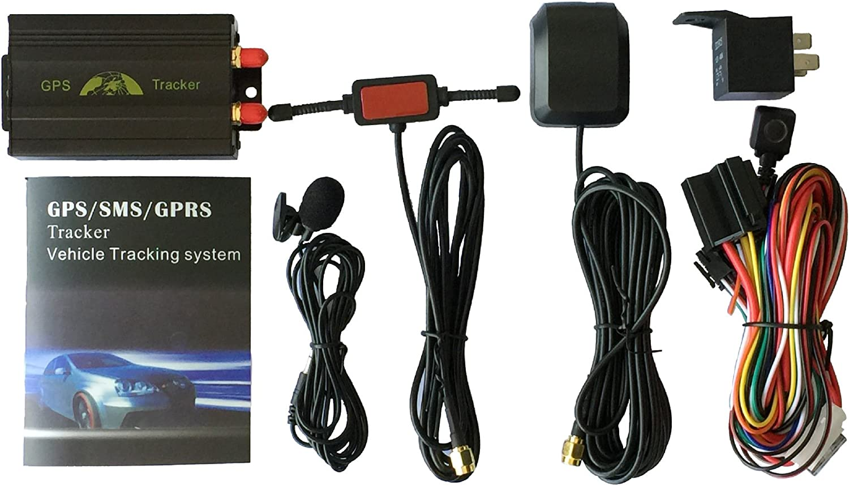 XCSOURCE Rastreador de automóviles GPS con GPRS y sistema de protección contra robo de vehículos 95mm x 55mm x 26mm Modelo: TK103A