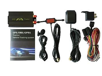 Coche GPS del vehículo perseguidor 103B con control remoto GSM antirrobo