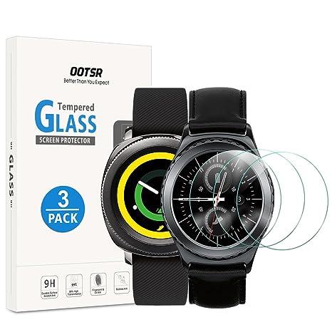 OOTSR (3 Piezas) Protector de Pantalla para Samsung Gear S2 ...