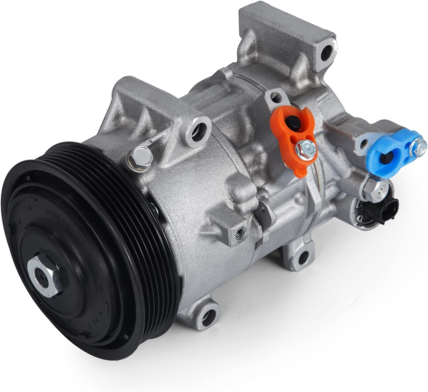 New AC Compressor /& A//C Clutch For Toyota Corolla 2014 2015 2016 BuyAutoParts 60-03681NA New