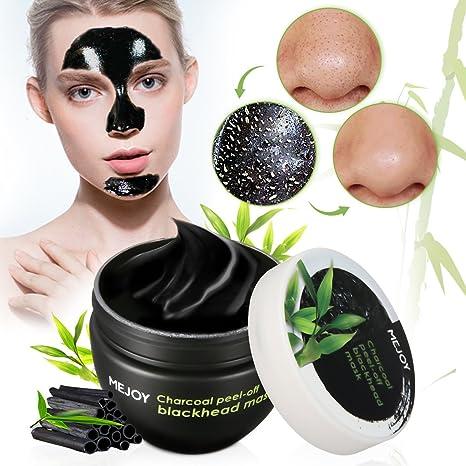 Mascarilla Negra Para Puntos Negro 120ml, Máscara Exfoliante Facial y Limpiadoras, Crema Quita Espinillas, Mascarilla Carbon Activo, Y.F.M Black Mask Peel Off