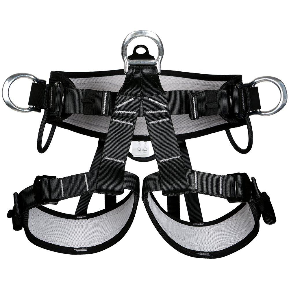 Gazechimp Klettergurt Sicherheitsgurt für Fallschutz Steigschutz Kletterausrüstung