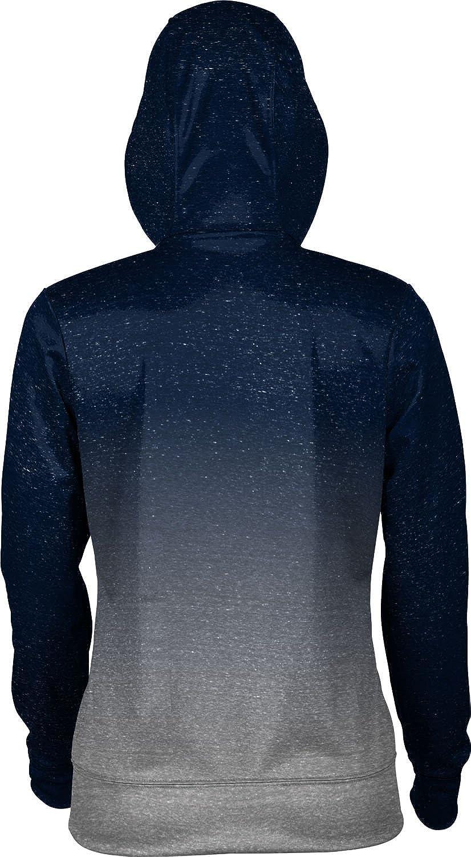 ProSphere University of New Hampshire Girls Zipper Hoodie Ombre School Spirit Sweatshirt