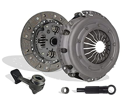Clutch And Slave Kit Set Works With Ford Focus Base SE S2 ZTS ZTW ZX3 ZX5