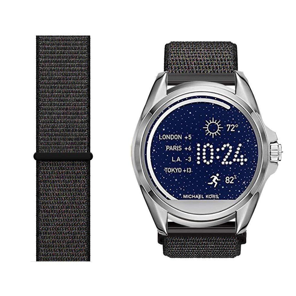 LvBU Classic Nylon Reloj de Pulsera para Michael Kors Bradshaw ...