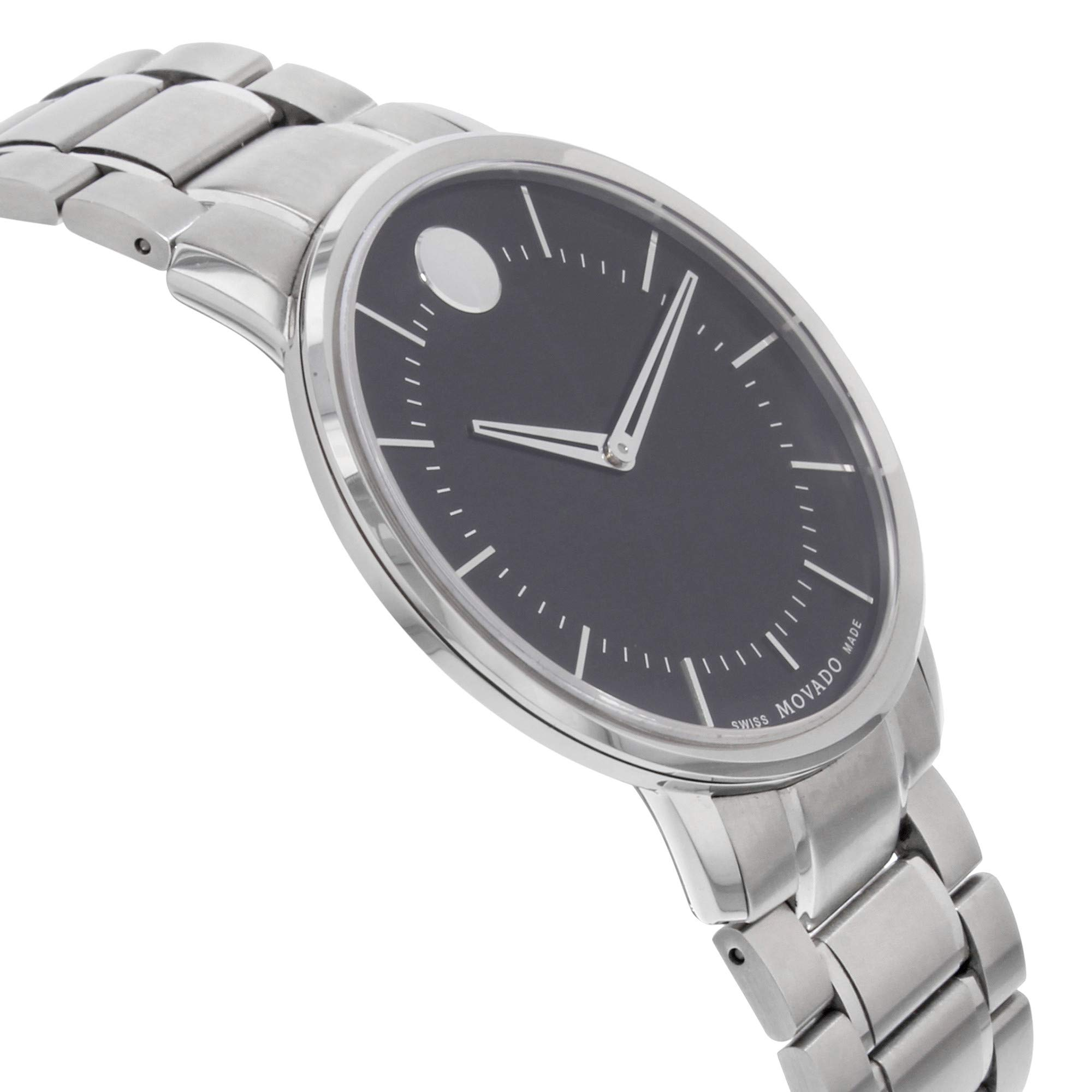 Movado Classic Quartz Male Watch 0606687 (Certified Pre-Owned) by Movado (Image #4)