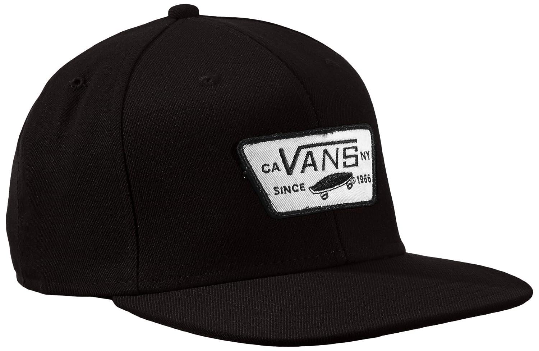 Vans Full Patch Snapback, Gorra de béisbol para Hombre, Negro (True Black 9rj), única (Talla del Fabricante: OS): Amazon.es: Ropa y accesorios