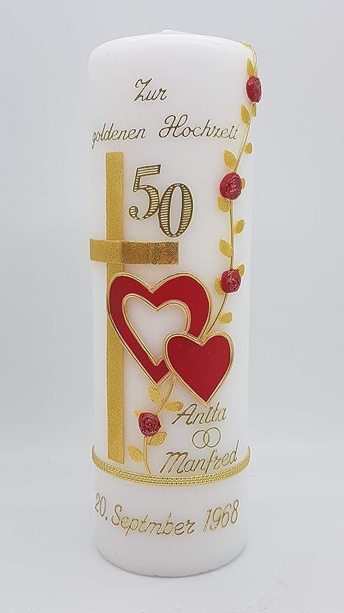 Geburtstagskerzen Party Dekoration Kerze Goldene Hochzeit