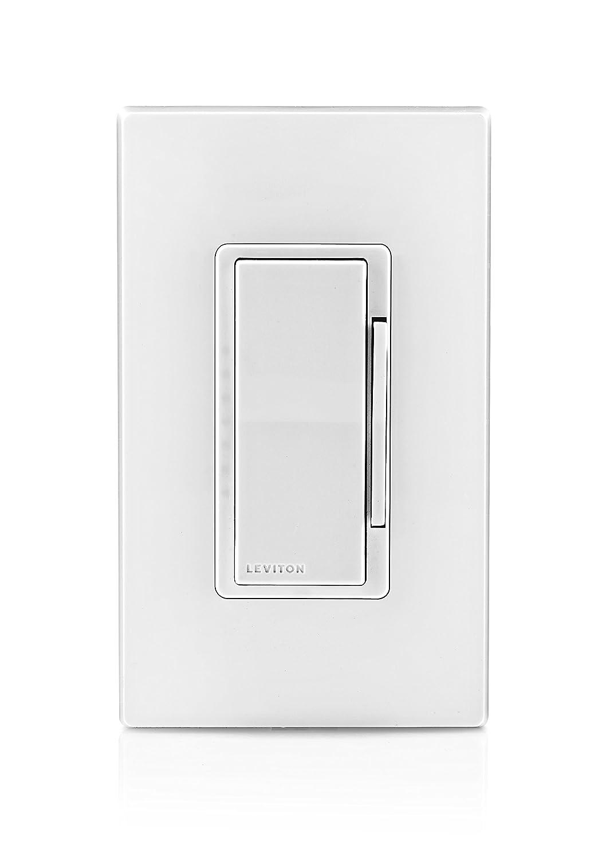 Leviton DD710-BLZ Decora Digital 0-10V Dimmer and Timer with Bluetooth Technology, White/Ivory/Light Almond - - Amazon.com