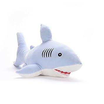 Amazon Com Lazada Ocean Sharks Stuffed Animals Super Soft Kids