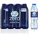 Al Ain Zero, Bottled Drinking Water - 500 ml (Pack of 12)