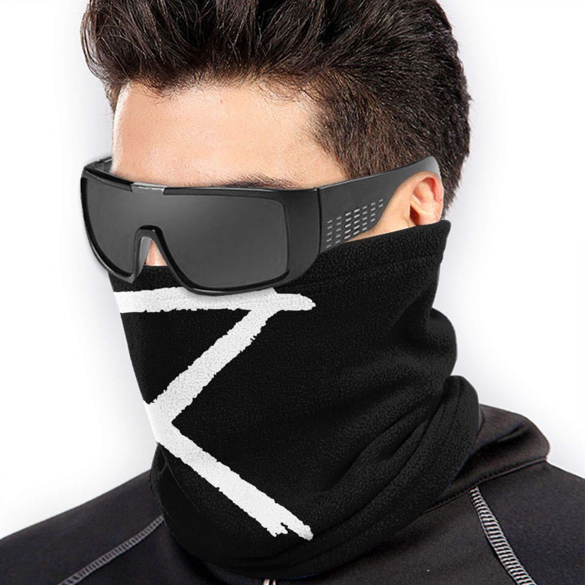 Circa Survive Fleece Neck Warmer Windproof Winter Neck Gaiter Cold Weather Face Mask For Men Women 1011.6 Inch